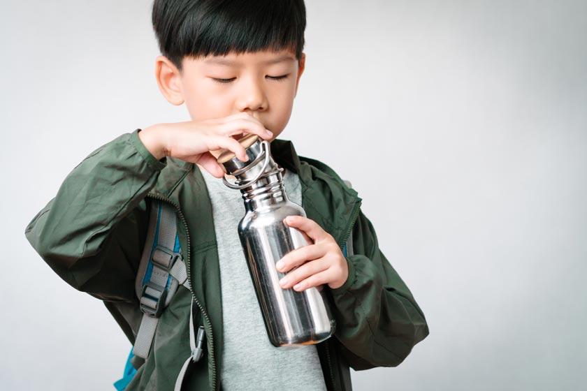 Edelstahl Trinkflaschen für Kinder